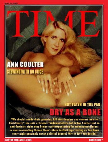 Ann Coulter exposed