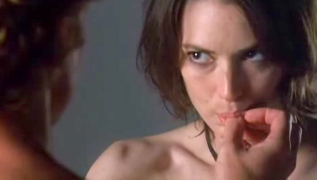 Winona Ryder in movie